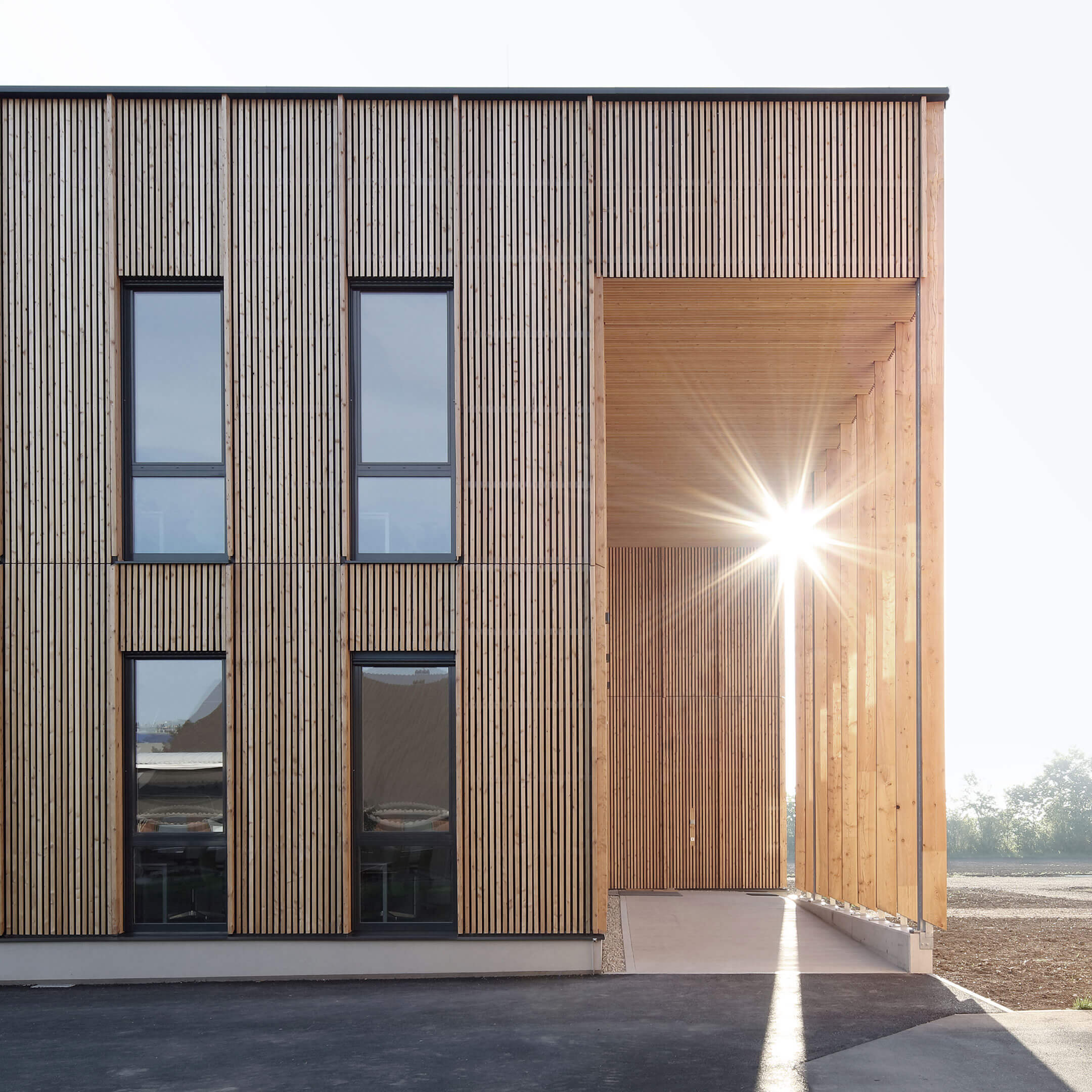 IFA Tulln Holzbau außen